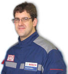 Stefan Budgen Fuel Pump Workshop Team Member